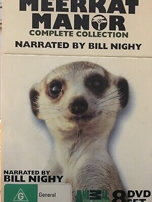 MEERKAT MANOR - The Complete Collection Series 1 - 4 8 x DVDs Seasons 1 2 3 4