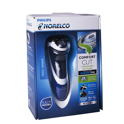 Philips Norelco PT724 Comfort Cut Wet/Dry Electric Razor Shaver 3100 Retail Box