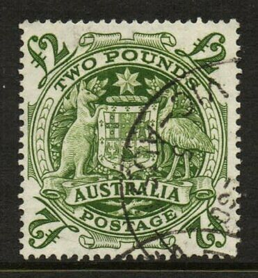1950 Coat of Arms £2 Green Arms FU SG 224d 612