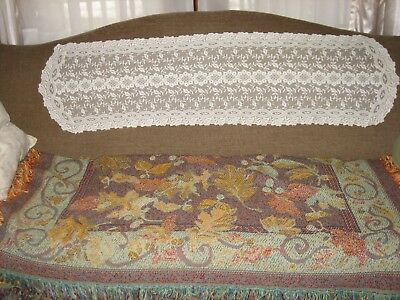 Vintage Lace Runner Very Good Condition Age Unknown