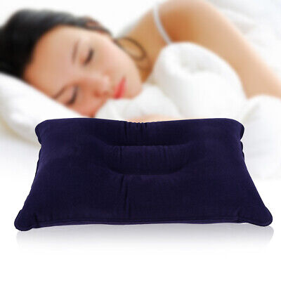 Portable Ultralight Inflatable Air Pillow Cushion Travel Hiking Camping Sleeping