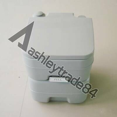 20L Portable Toilet Flush Travel Camping Outdoor/Indoor Potty Commode