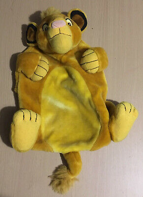 Disney The Lion King Simba Hot Water Bottle Cover Vintage /Rare
