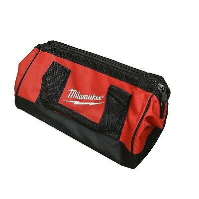 Best Tool Bag Mechanic Milwaukee Electrician Heavy Duty Tote Canvas 6 Pocket NEW