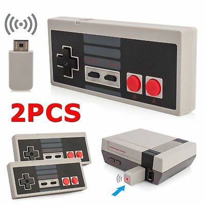 2PCS Wireless Controller Gamepad for NES Classic Edition Nintendo Mini Console