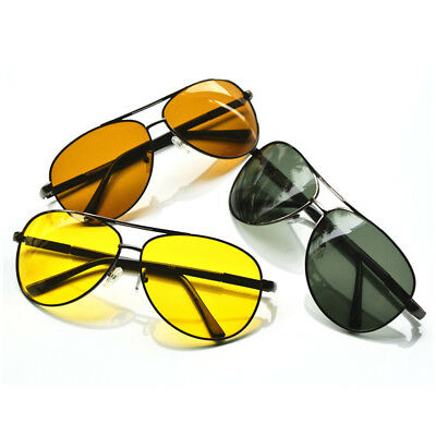 Mens Sunglasses Day Night Vision Glasses Polarized Driving Sport Eyewear Goggles