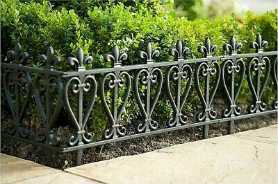 4,8,12 or 16 Victorian Garden Lawn Grass Border Edging Fencing Driveway Patio