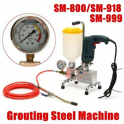 High Pressure Electric Foam Grouting Machine Leak Stoppage Injection Piston Pump
