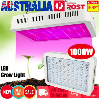 1000W LED Grow Light Hydro Medical Plants Veg Bloom Frui Full Spectrum Bulb AU