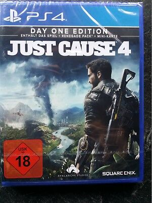 Just Cause 4 - Day One Edition - PS 4 - Neu