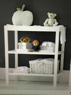 Mothercare Ayr Open Dresser White