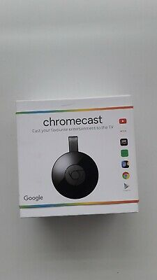 Google Chromecast Media Streamer - Black