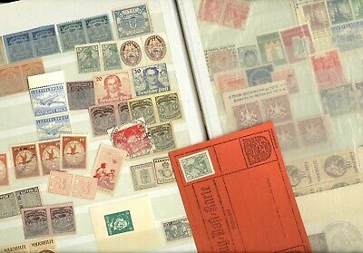 GERMANY & AREA, Fabulous Assortment of Stamp FORGERIES, nice reference