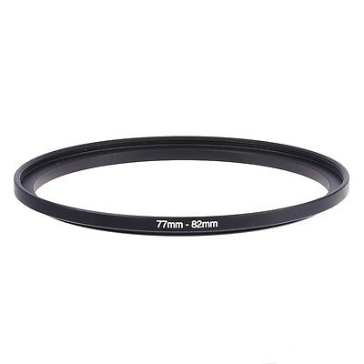 New 77mm-82mm 77mm To 82mm Step-Up Rings Metal Lens Adapter Filter Ring 77-82