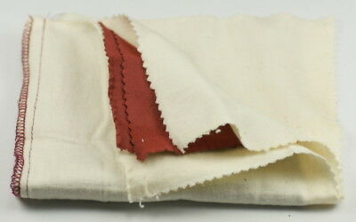 PREMIUM Polishing cloth IMPREGNATED ROUGE cleans & polishes gold silver watch