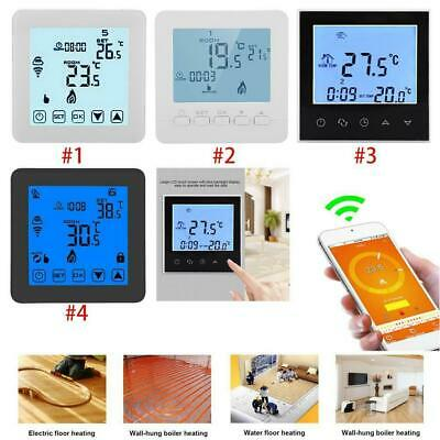 Programmable Wifi Smart Wireless Digital Thermostat LCD Touch Screen App Control