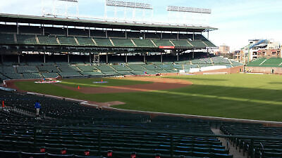 2 Chicago Cubs Philadelphia Phillies Tickets 5/21 May 21 Wrigley Sec 231 Row 14