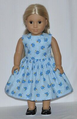 "Blue Bird Happiness Blue Doll Dress Clothes Fits 18"" American Girl Dolls"