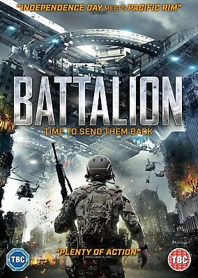 Battalion (Dvd) (New) (Released 24Th September) (Sci-Fi) (Free Post)