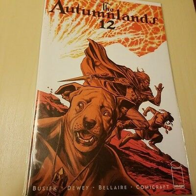 AUTUMNLANDS TOOTH & CLAW #12 (Image 2016 1st Print) COMIC