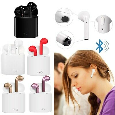 RICHOYY Compatible Bluetooth Headset I7S, in-Ear Stereo Headset 2PC Headset,
