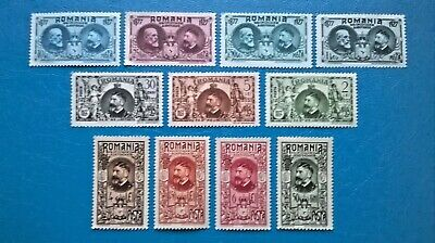 Romania 1927 50th Anniversary of Romanian independence from Turkey issue