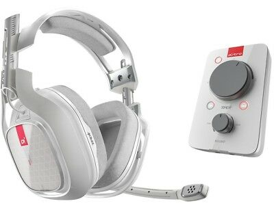ASTRO Gaming A40 TR Headset + MixAmp Pro TR - Xbox One - White - UD - In Box