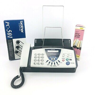 Brother FAX-575 Personal Plain Paper Fax Phone and Copier Bundle