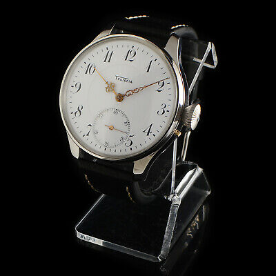 Teutonia Glashutte Watch Men's 16 Size 17 Jewels Best Quality Germany Movement