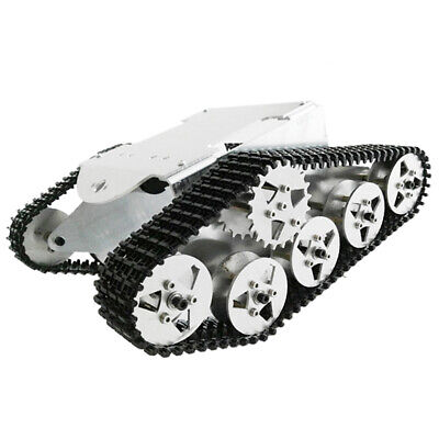 Smart Tank Robot Tracked Crawler Chassis DIY RC Car Robotic Arduino Learning