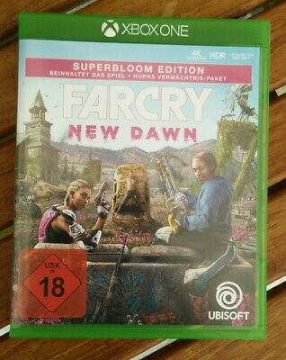 Far Cry New Dawn Superbloom Edition - Xbox wie neu Codes unbenutzt 4k HDR