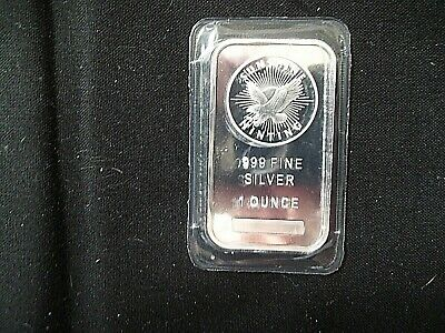 1 Oz. .999 Fine Silver Bar,sunshine Minting Silver Bar ,listed Below Cost Price!