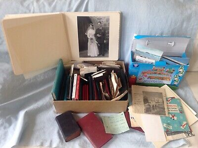 Interesting Large Selection Vintage Personal Written Diaries & Documents 1930s