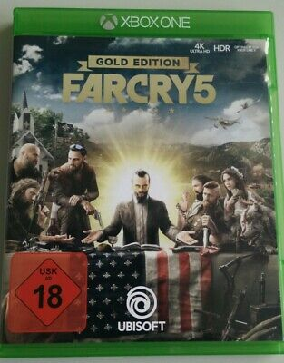 Far Cry 5 Gold Deluxe Edition - Xbox One - 4k wie neu