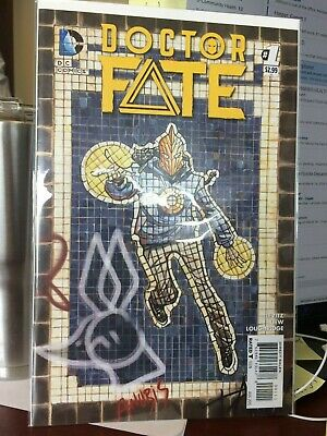 Doctor Fate #1 VF 1st Appearance Khalid Nassour 2015 DC Movie Coming