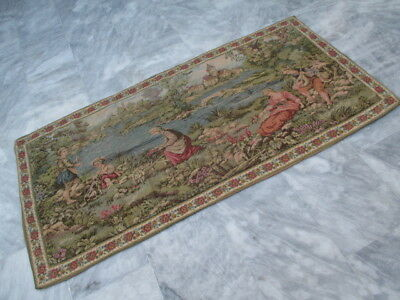 4786 - Old French / Belgium Tapestry Wall Hanging - 161 x 79 cm