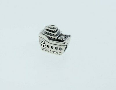 3fe99a96b PANDORA STERLING SILVER Cruise Ship Boat Bead Charm 791043 - $18.95 ...