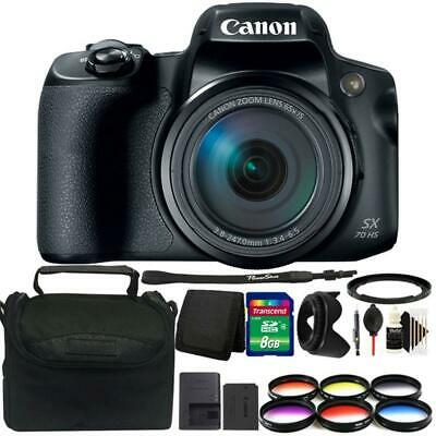 Canon Powershot SX70 HS 20.3MP Digital Camera with Great Value Accessory Kit