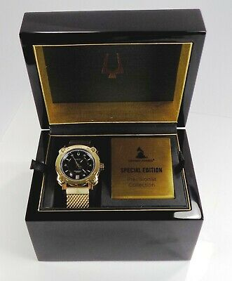 Bulova Precisionist Grammy Awards Special Edition Watch Box & Papers #1913