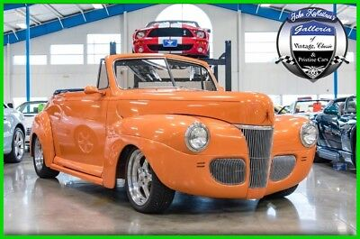 1941 Ford Convertible Coupe Ford Convertible Cabriolet Street Rod Low Reserve No 1941 Ford Convertible Coupe 383ci V8 Automatic Steel Body 41 Street Rod