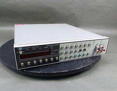 HP 3455A Digital Voltmeter with Bent Knobs