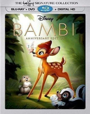Bambi:The Signature Collection [Blu-ray] Limited Edition 3D Lenticular Slipcover