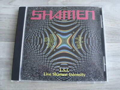 CD electronic pop synth THE SHAMEN LSI Live Intensity electronica house techno