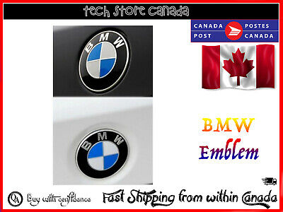 Replacement BMW Car Emblem Chrome Front Badge Logo 73mm 2 Pins BMW Hood
