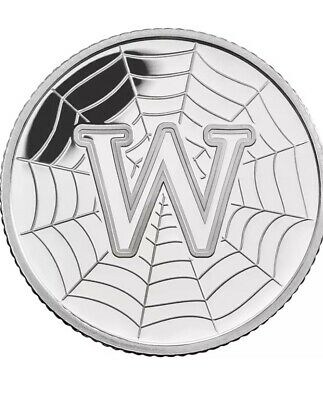 NEW A-Z 2018 ALPHABET 10p COIN HUNT-  LETTER W - WORLD WIDE WEB