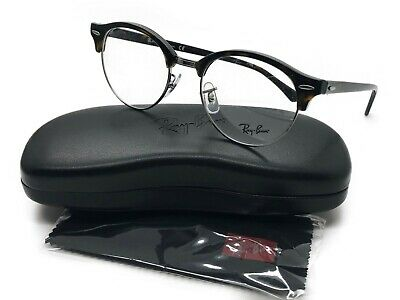 4537495671 Authentic Ray Ban Clubround RX 4246V 2012 Dark Havana Plastic Eyeglasses  49mm