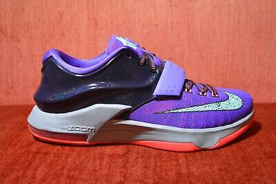 competitive price 03f32 8ca7e WORN ONCE Nike KD VII 7 Cave Purple Size 9 653996-535 Purple Black Red