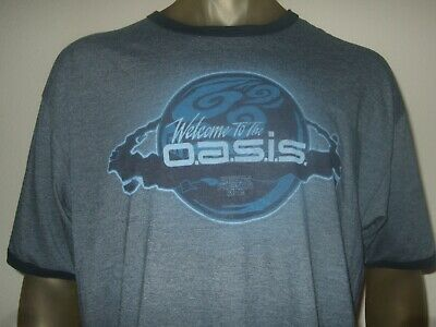 Ready Player One Oasis Official Black Unisex T-Shirt Pegg Spielberg