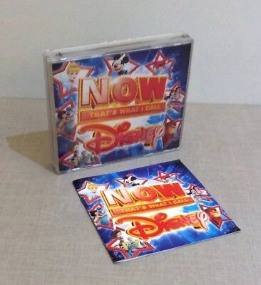 Now That's What I Call Music Disney Various Artists Cd Albums Great Condition