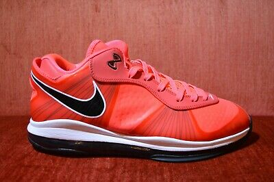 19dc4a116 WORN ONCE NIKE Lebron 8 V 2 Low Solar Red 456849 600 Size 13 ...